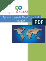 Aportaciones de México