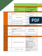 Matriz de Responsabilidades Para Area de Almacen General