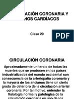CLASE 23. Circulación Coronaria y Tonos 1