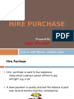 Hire Purchase Final Ppt