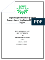 Exploring Biotechnology in the Perspective of Intellectual Property Rights.