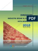 Direktori Industri Besar Dan Sedang Di Kota Surakarta Tahun 2015