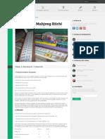 Puntuación Mahjong Riichi