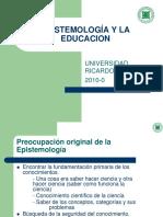 Epistemologia y Educacion