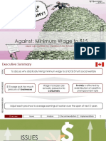 Group 10 - Against Min. Wage
