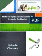 16° Clase Metodologías EIA listas y matrices