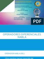 Operador diferencial vectorial Nabla
