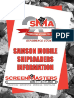 SM Samson Mobile Shiploaders