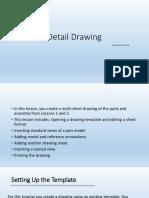 Unit 5 - Detail Drawing
