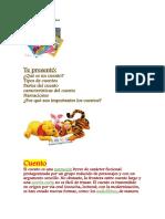 Estructura y Tipos de Cuentos