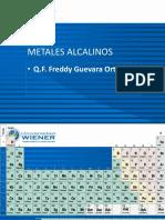 2 Clase Metales Alcalinos