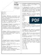Lista - Circunferência- 2ª SÉRIE - FLABER