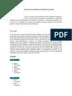 Instructivo Boceto Ensayo Historia y Filosofía de La Ciencia