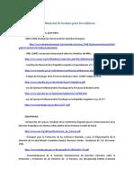 Normativas y Material de Lectura Sobre Salud Mental