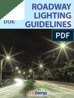 Guide for  Roadlight Computation and Design