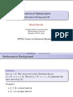 MathBackground II