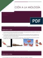 Introducción a La Miología
