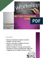 Metode Pengisian Formulir Document Control