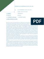 Análisis Literario Las Aventuras de Pico de Oro