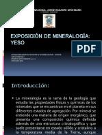 Exposion de Mineralogia