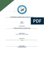Tarea 2 Planificación Educativa y Gestión Áulica