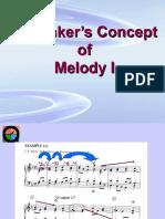 Schenker Melody i