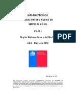 4 Informe Tecnico Medicion Calidad Servicio Movil Stgo Bio Bio 20120514 v1