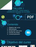 Taller 1 (2017-3)