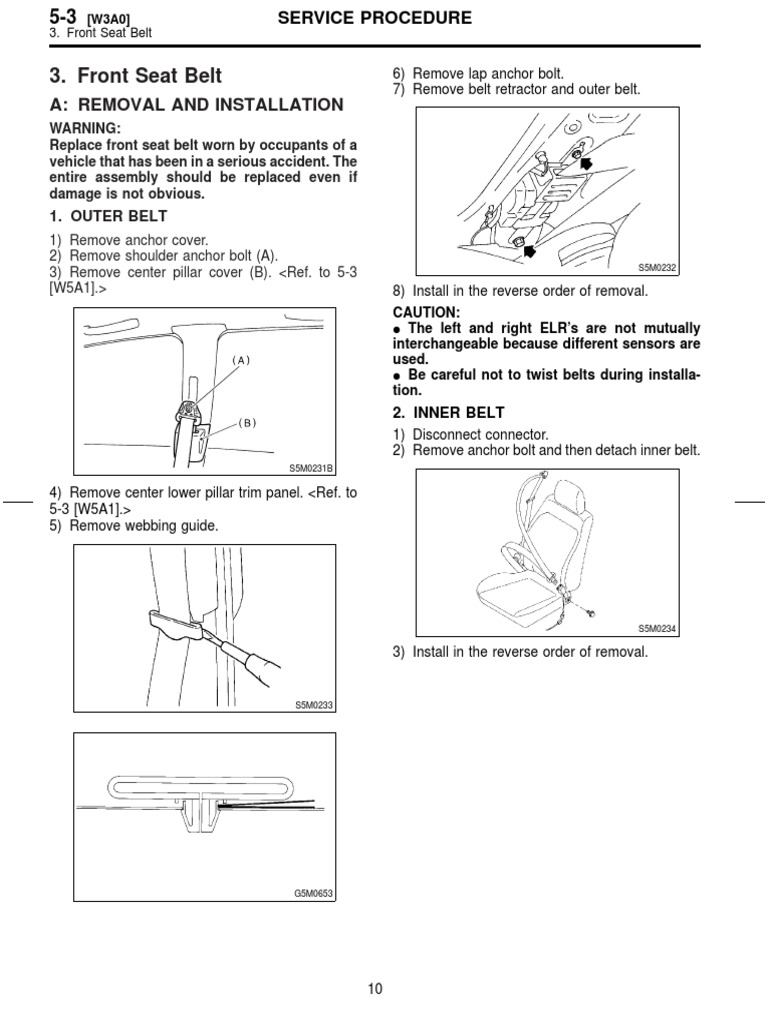 Msa5t0126a27914 Seat Belt Automobile Layouts Ford Retractor Diagrams