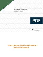 Plan Contable General Empresarial y Los Estados Financieros