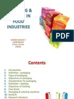 Packaging Labelling in Food Industri