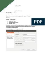 Informe Impresora Termica