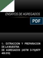 ENSAYOS AGREGADOS