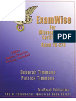 Study Exam Less 70 270 Examwise Demo Ver1