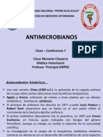 Clase 7 Antimicrobianos