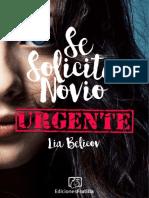 1. Se Solicita Novio Urgente-Lia Belikov