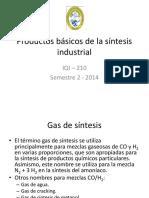 Productos Básicos de La Síntesis Industrial