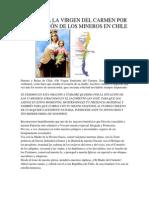 ORACIÓN A LA VIRGEN DEL CARMEN POR CHILE