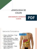 Semiologia de Colon