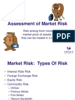 Market Risk Assessment