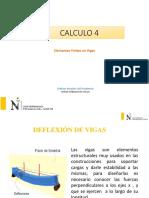 Vigas con condiciones de frontera CALCULO 4