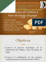 Elaboración de Chiffon a Base de Harina De