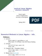 Algebra Lineal Aplicacion