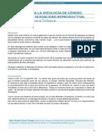 Alternativas a La Ideologia de Genero y a La Sexualidad y Salud Reproductiva (1)