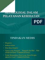 Aspek Hukum Dalam Pelayanan Kesehatan