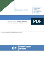 Boletin Estadistico Mineria - Estamin Junio 2017