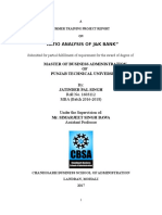 Ratio Analysis of j&k Bank