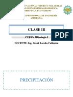 Clase 3 - Precipitación-Inundaciones