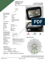 LFL1002L.G.W Flood Light Technical Specification Details.01.02.2016 (1)