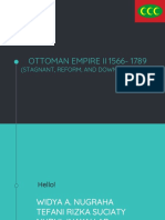 Ottoman Empire II 1566- 1789 (Stagnant, Reform, And Down the Empire))